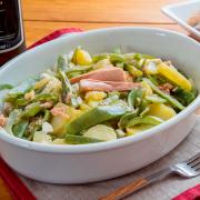ensalada de patatas y judias verdes