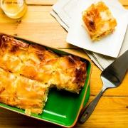 empanada griega de pimientos y queso feta
