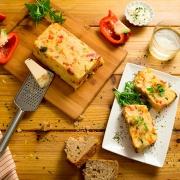 Pastel de patatas y verdura