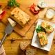 Pastel de patatas y verduras