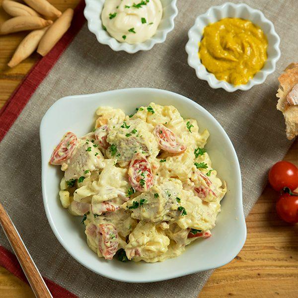 ensalada de pollo y patata