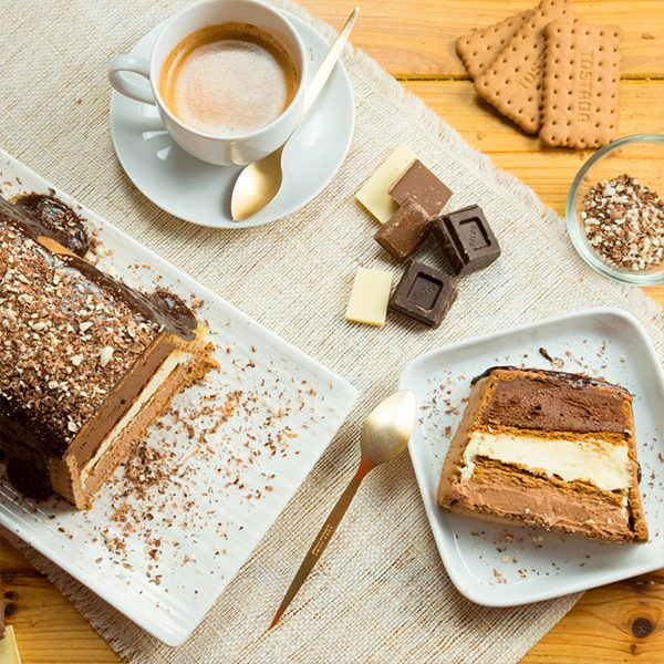 tarta de galletas a los 3 chocolates