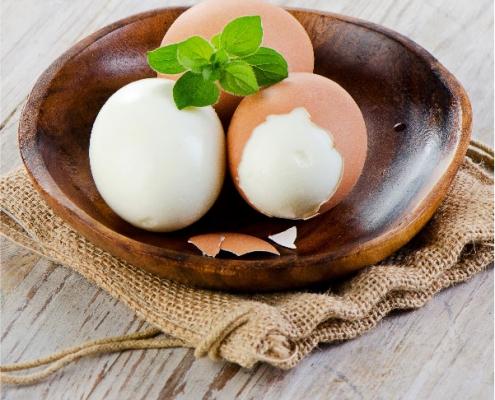 Cómo pelar fácilmente un huevo cocido