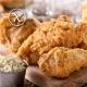 Pollo frito crujiente sin gluten