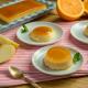 Tocino de cielo de naranja y manzana