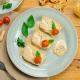 Pastel de verduras con mayonesa de soja