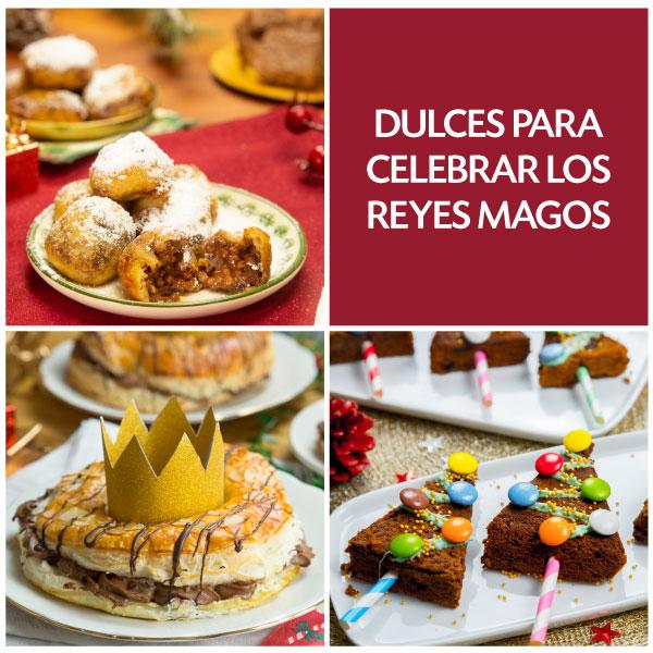 Recetas dulces para celebrar el Día de Reyes Magos