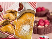 Recetas dulces express para San Valentín