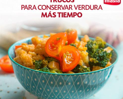 Cómo conservar las verduras durante más tiempo