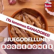 ganadores #juegodellunes 8 junio