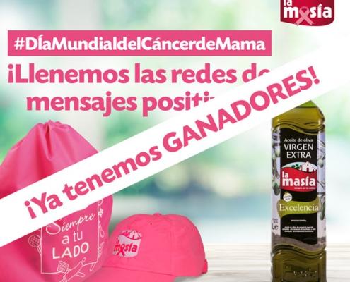 Ganadores sorteo Especial Día Mundial del Cáncer de Mama