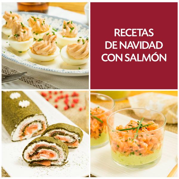 Recetas de Navidad con salmón ahumado