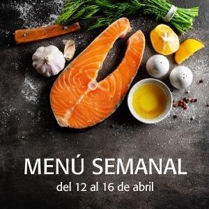 Menú Semanal del 12 al 16 de abril