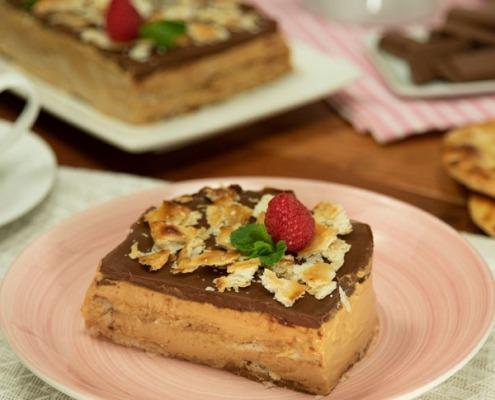 Tarta de la abuela con tortas de aceite